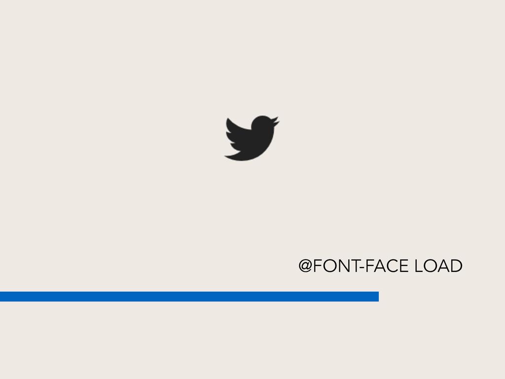 @FONT-FACE LOAD