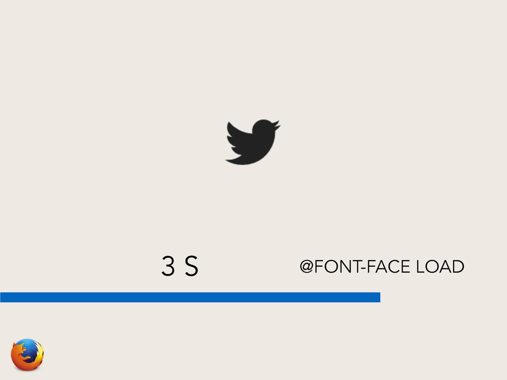 3 S @FONT-FACE LOAD