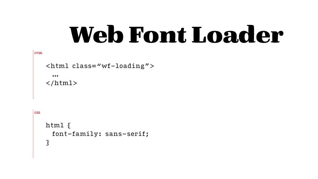"Web Font Loader <html class=""wf-loading""> … </h..."