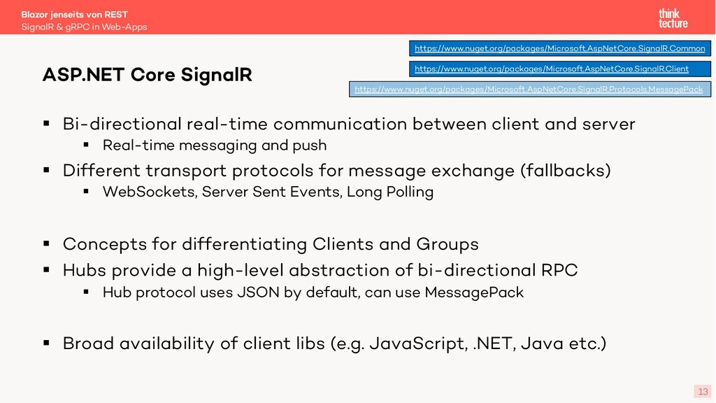 13 § Bi-directional real-time communication bet...