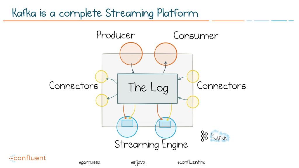 @ @gamussa @sfjava @confluentinc The Log Connec...