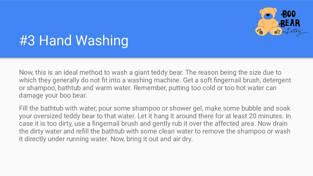 #3 Hand Washing Now, this is an ideal method to...