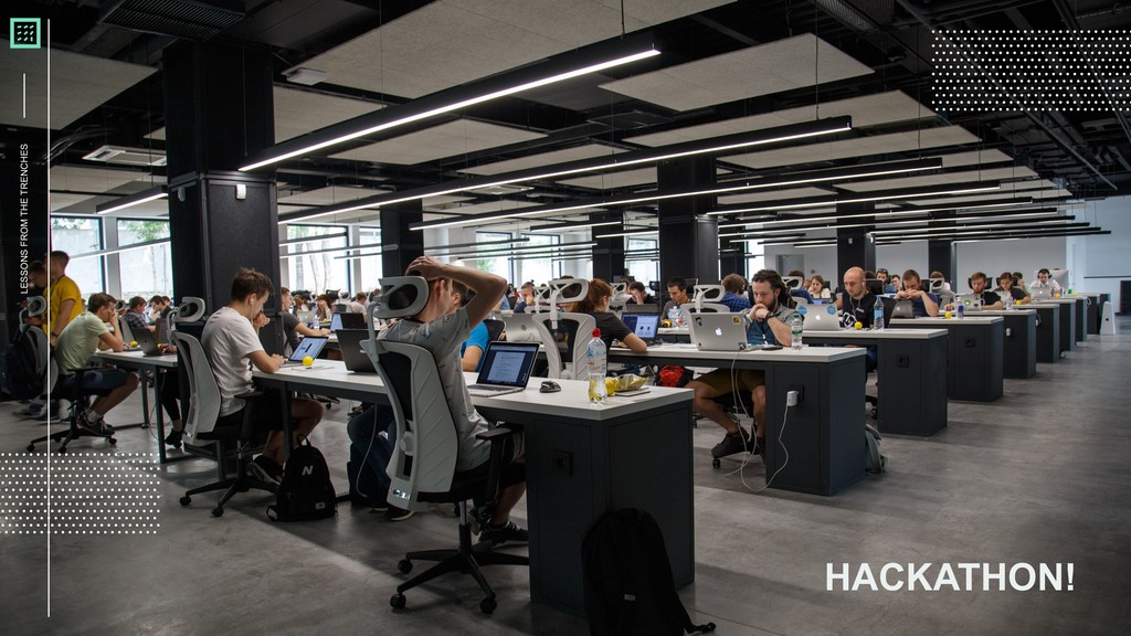 LESSONS FROM THE TRENCHES HACKATHON!