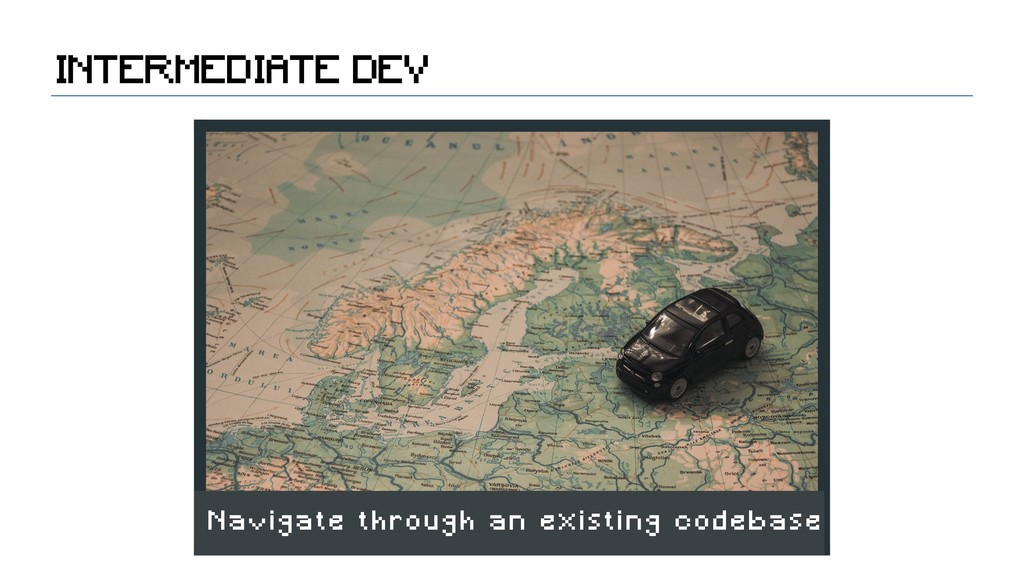 INTERMEDIATE DEV Navigate through an existing c...