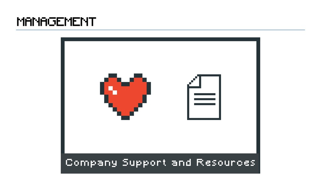 Company Support and Resources MANAGEMENT