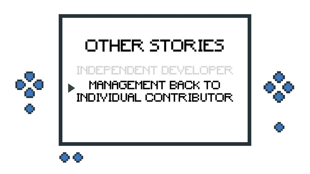 OTHER STORIES MANAGEMENT BACK TO INDIVIDUAL CON...