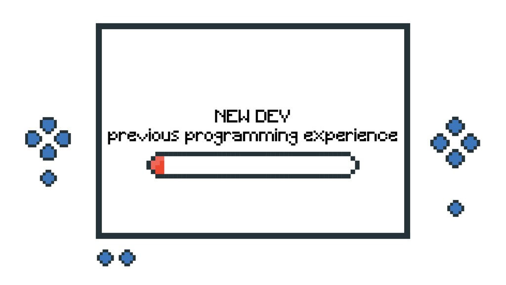 NEW DEV previous programming experience