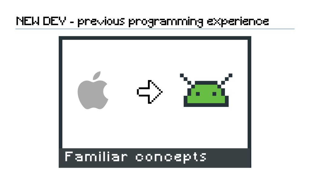 NEW DEV - previous programming experience Famil...