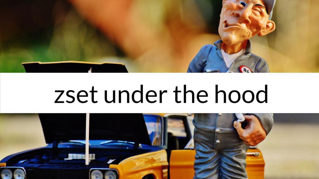 zset under the hood