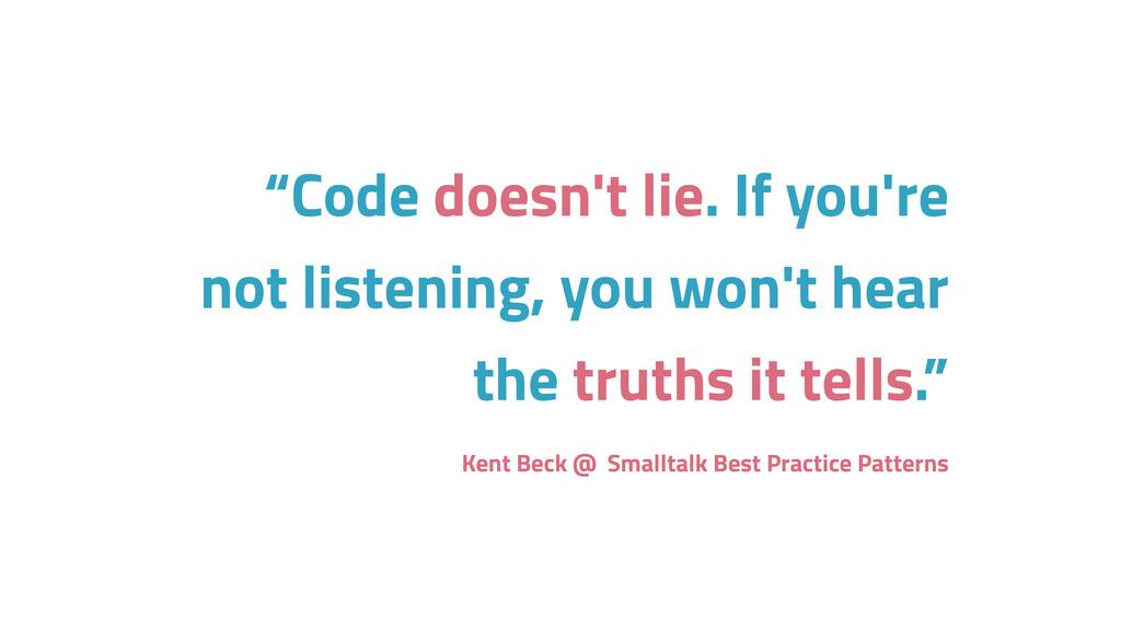 "Kent Beck @ Smalltalk Best Practice Patterns ""C..."