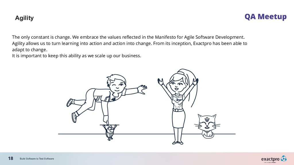 18 Build Software to Test Software Agility The ...