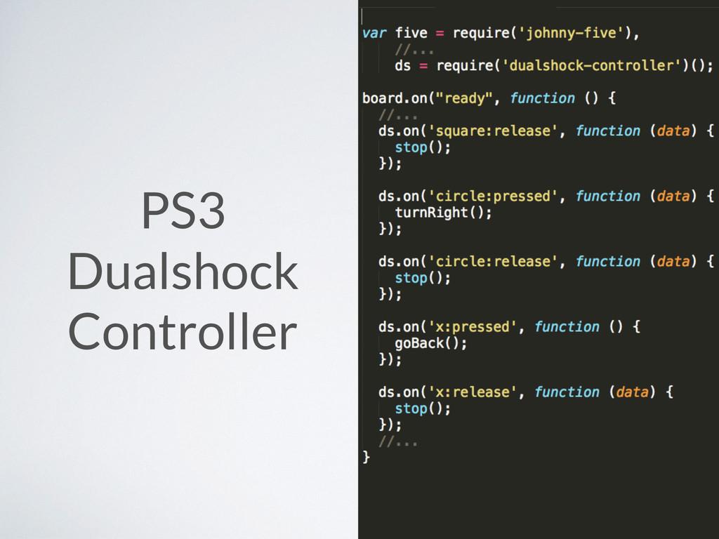 PS3 Dualshock Controller