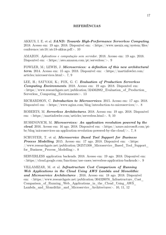 17 REFERÊNCIAS AKKUS, I. E. et al. SAND: Toward...