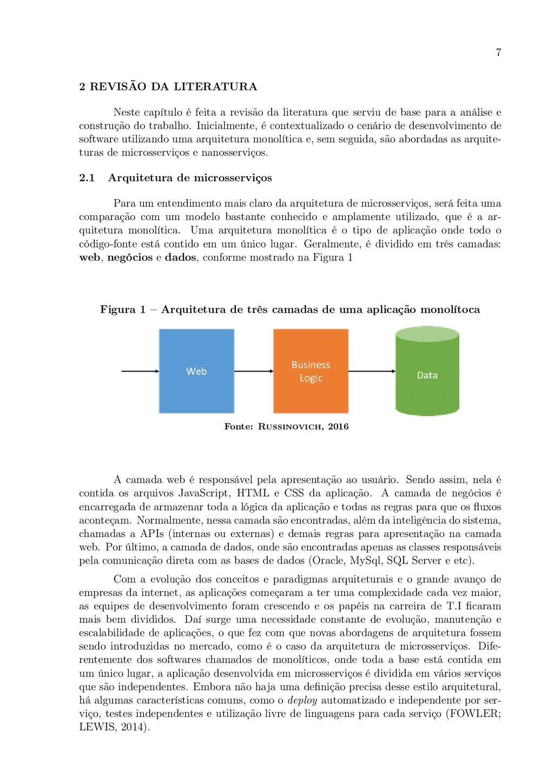 7 2 REVISÃO DA LITERATURA Neste capítulo é feit...
