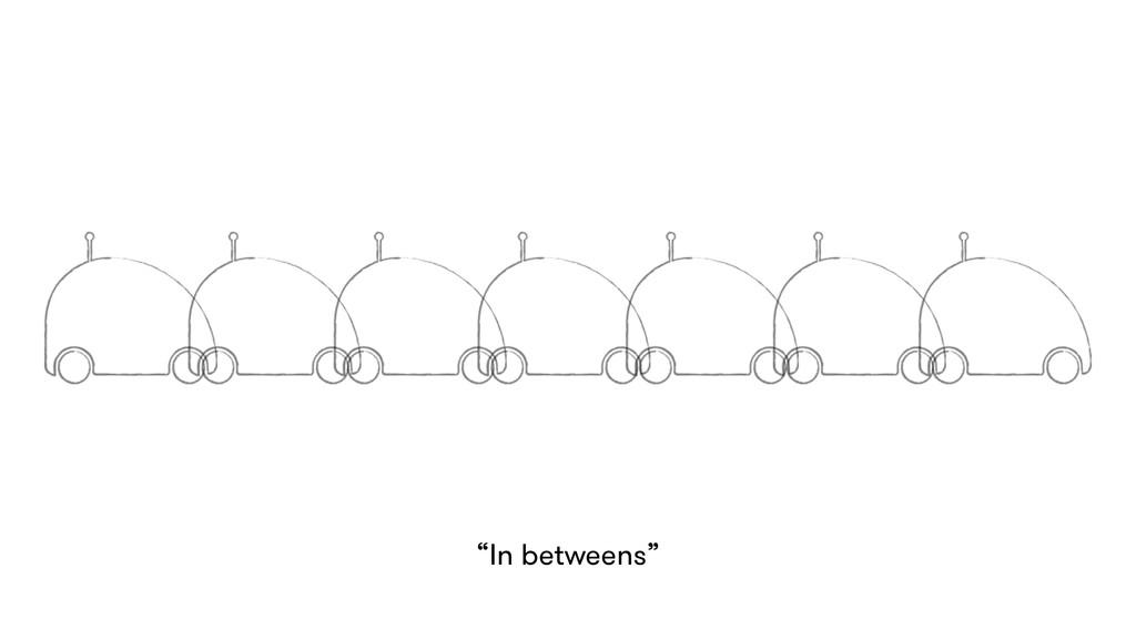 """Frames """"In betweens"""""""
