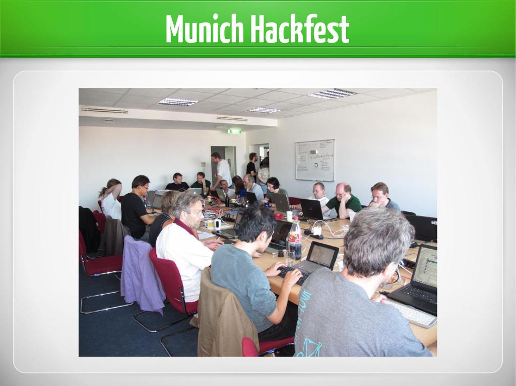 Munich Hackfest