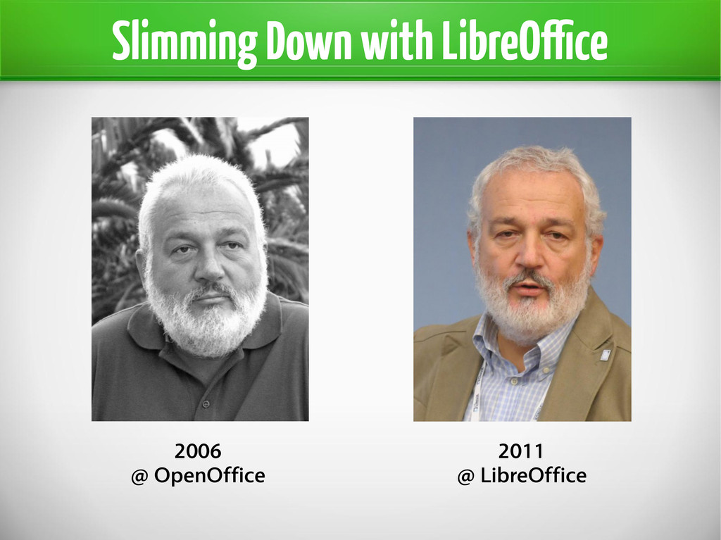 Slimming Down with LibreOffice 2006 @ OpenOffic...