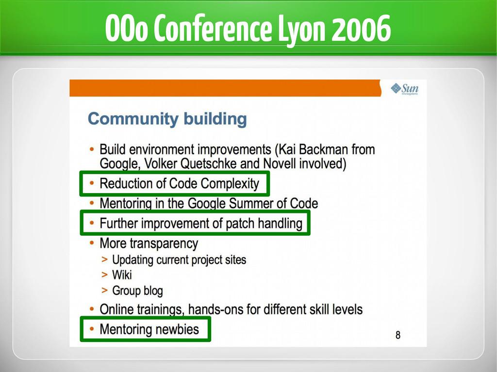 OOo Conference Lyon 2006