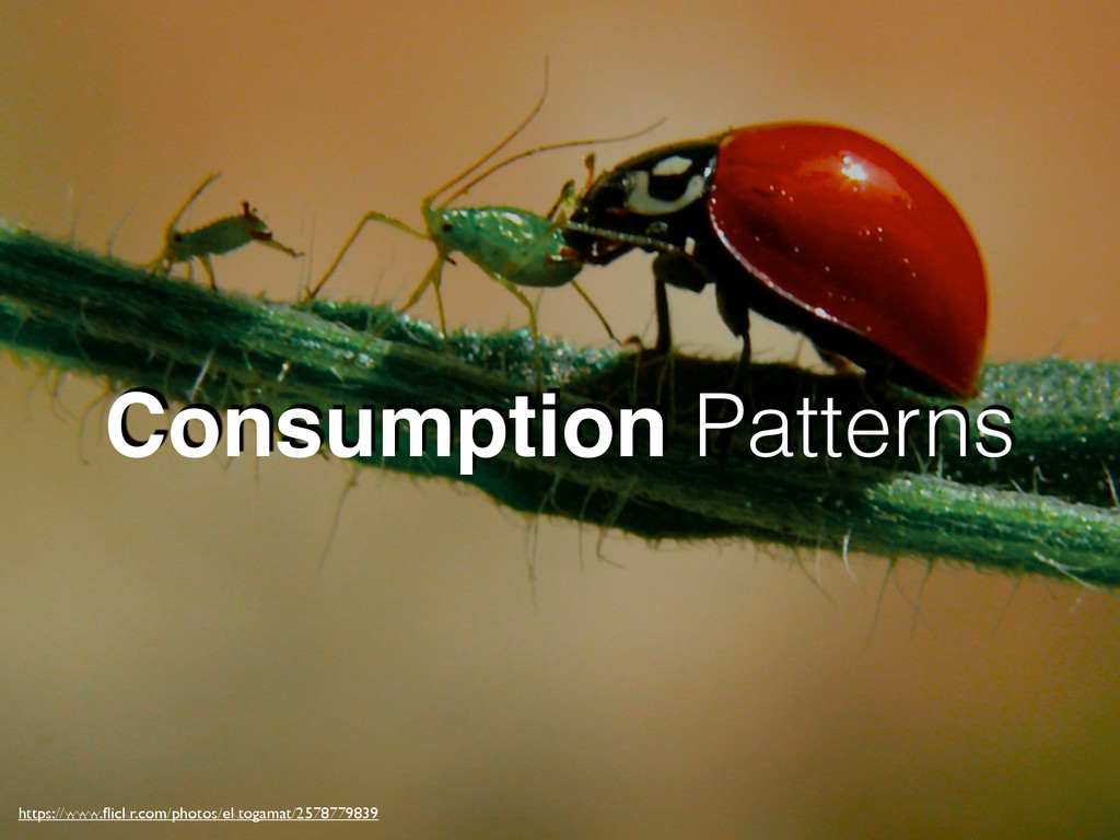 Consumption Patterns https://www.flickr.com/phot...