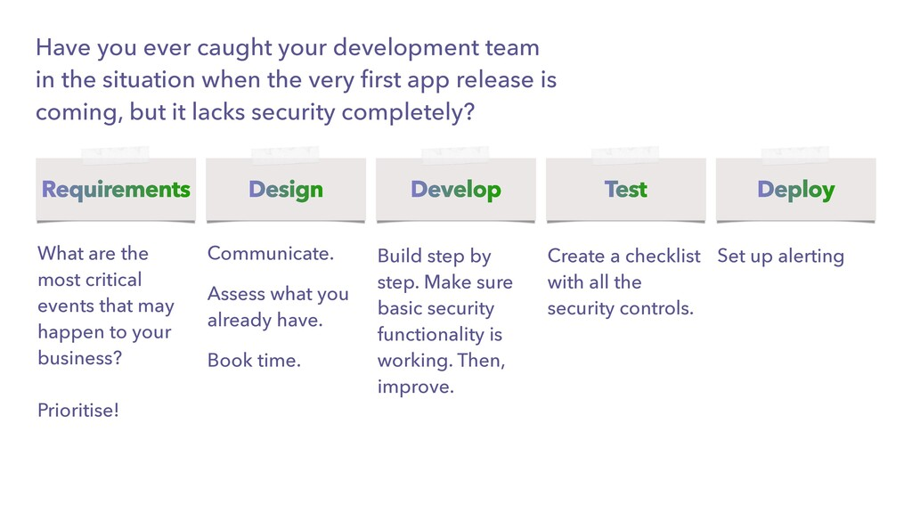 Have you ever caught your development team in t...