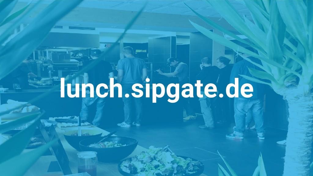 lunch.sipgate.de
