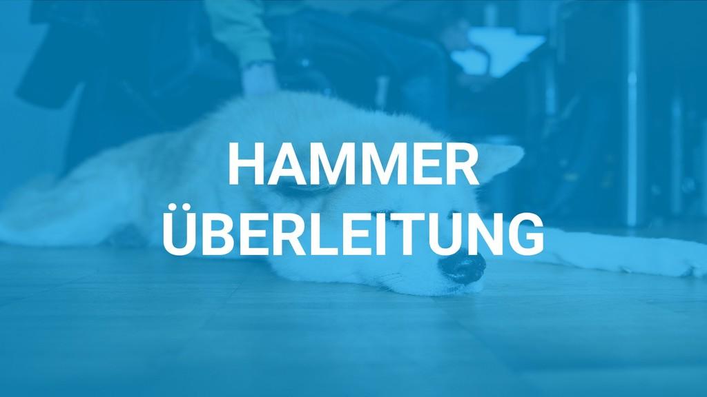 HAMMER ÜBERLEITUNG