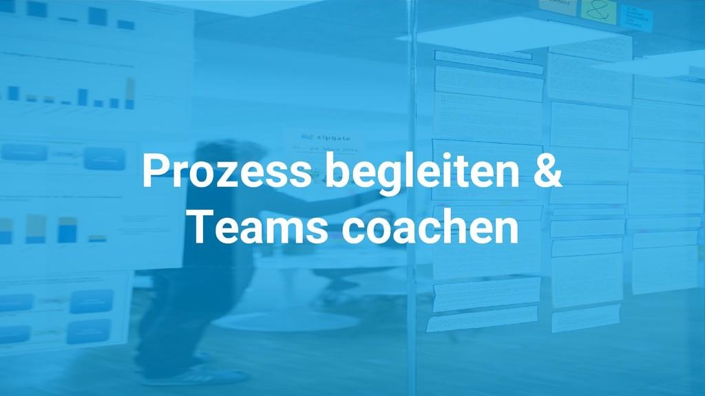 Prozess begleiten & Teams coachen