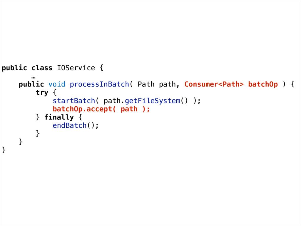 public class IOService { … public void processI...
