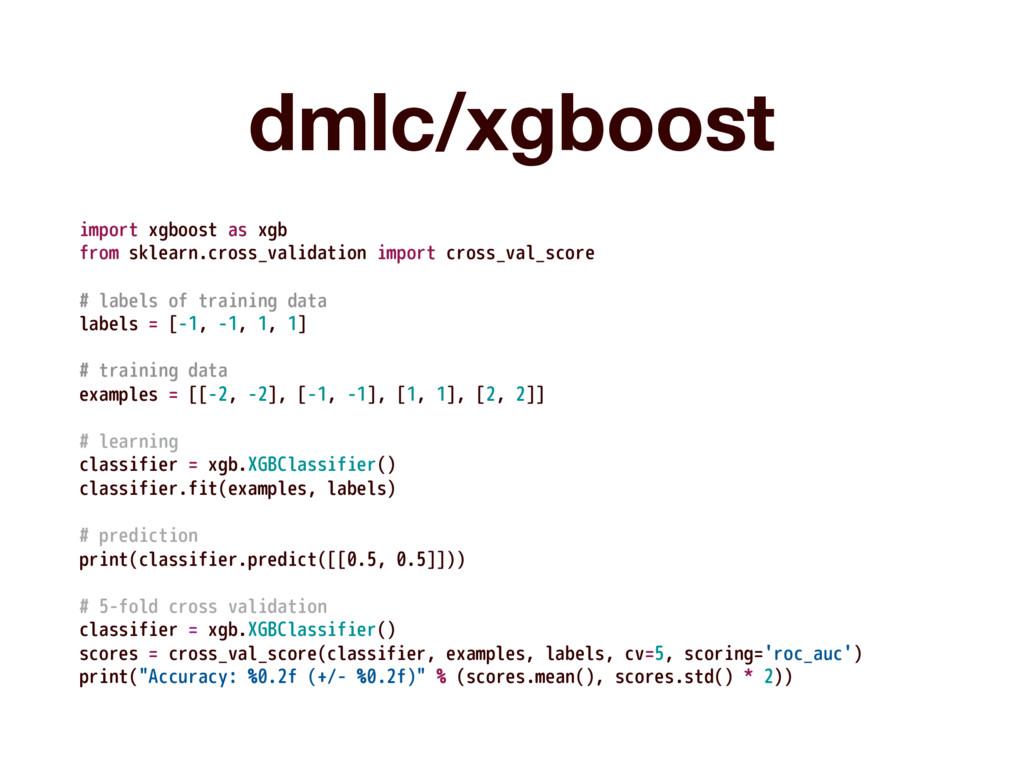 dmlc/xgboost import xgboost as xgb from sklearn...