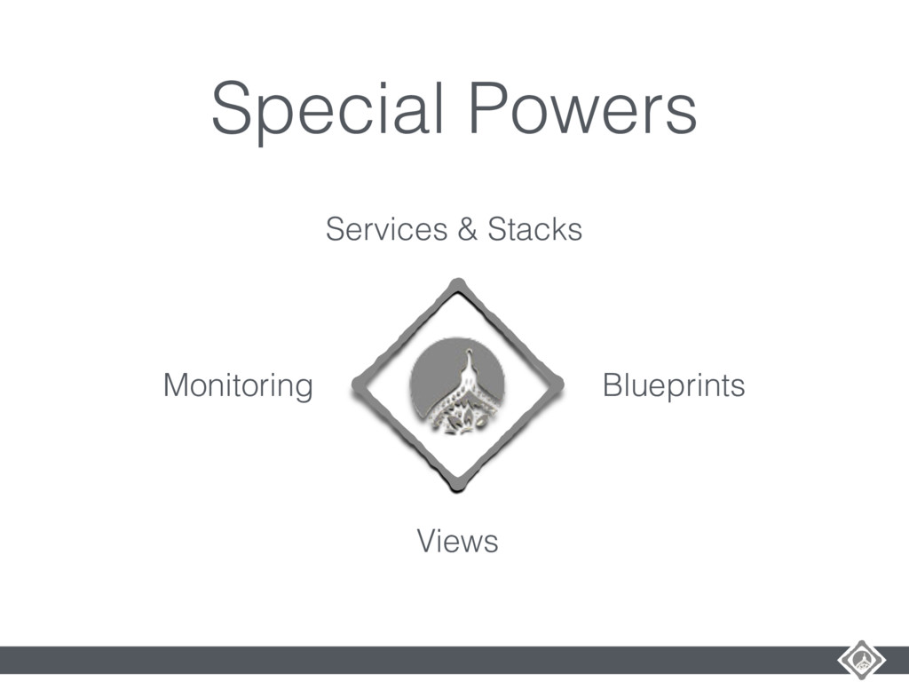 Special Powers Services & Stacks Blueprints Vie...