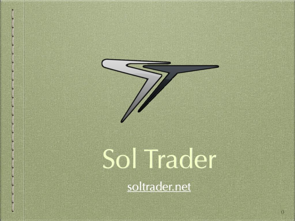 Sol Trader soltrader.net ()