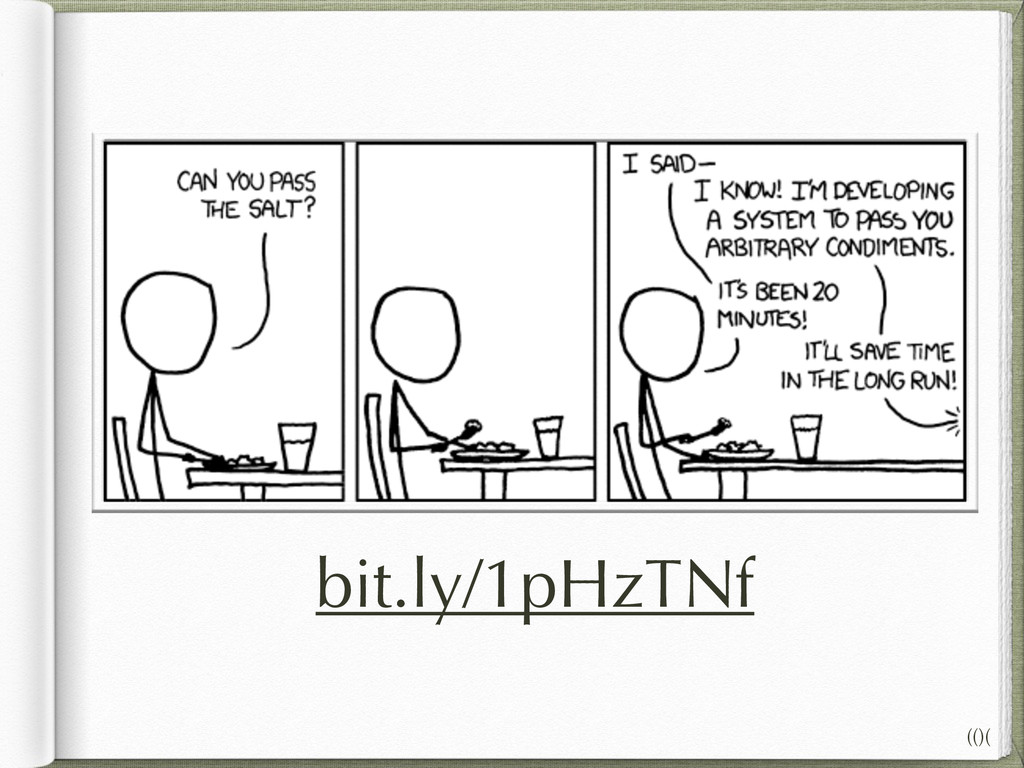 Tying allocation to code is a form of coupling ...