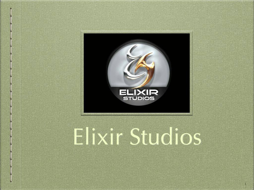 Elixir Studios (