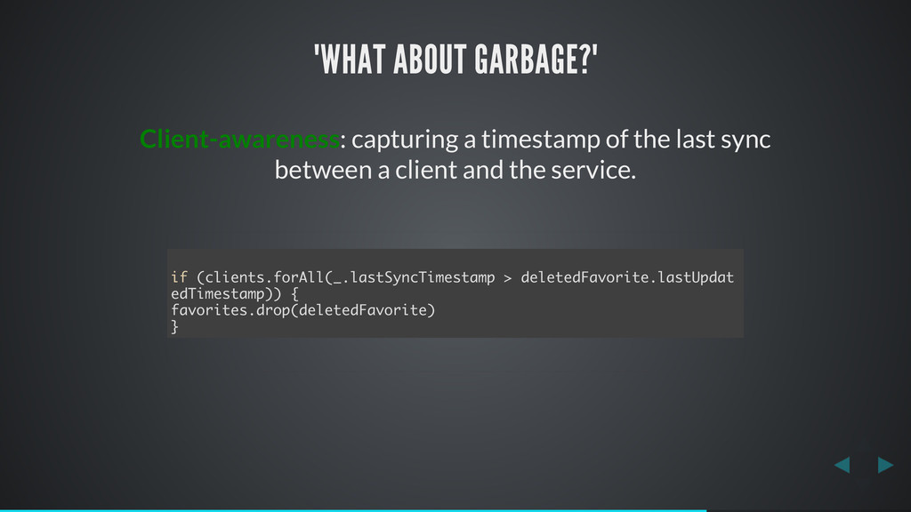 """WHAT ABOUT GARBAGE?"" Client-awareness: capturi..."