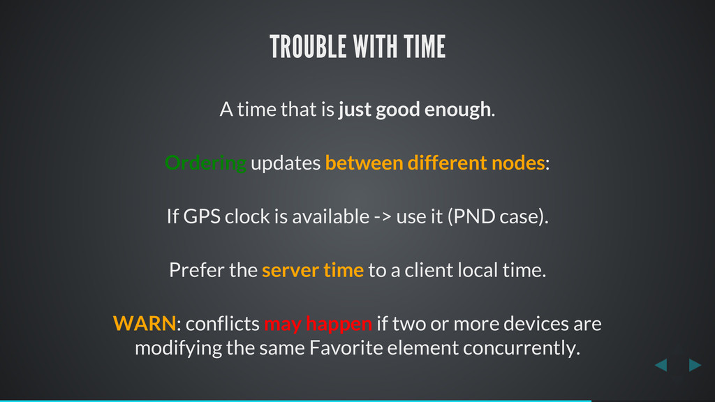 TROUBLE WITH TIME A time that is just good enou...