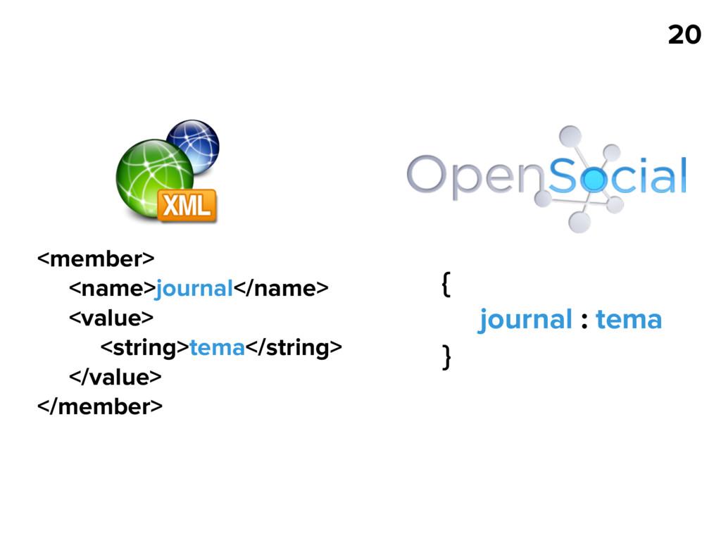 20 <member> <name>journal</name> <value> <strin...