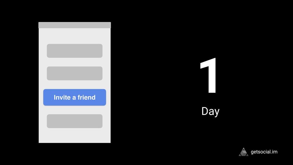 getsocial.im 1 Day Invite a friend