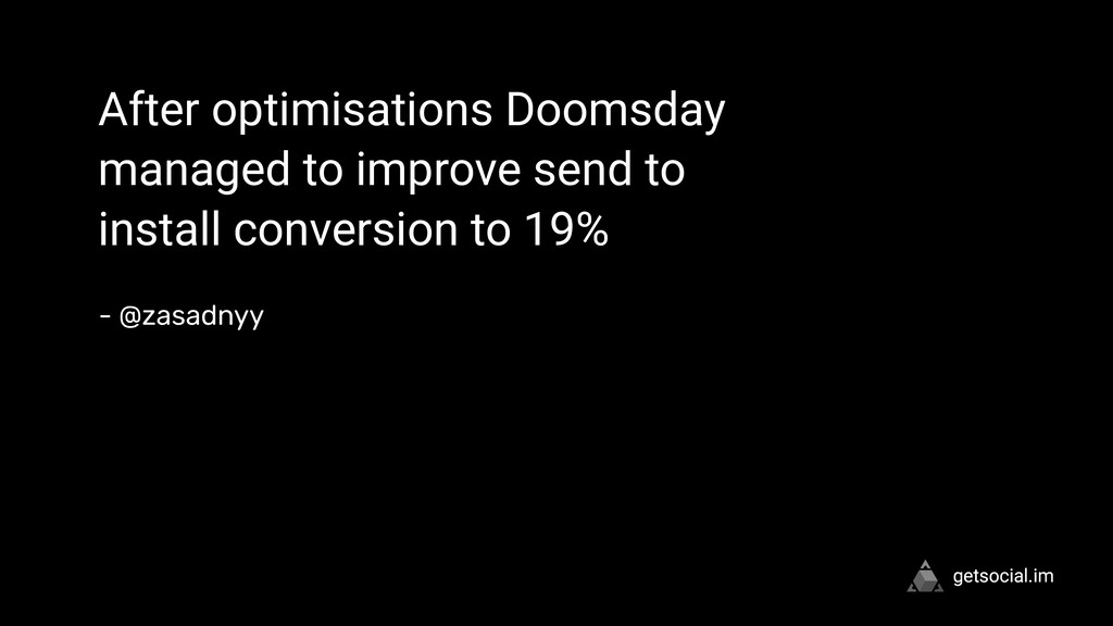 """ After optimisations Doomsday managed to impro..."
