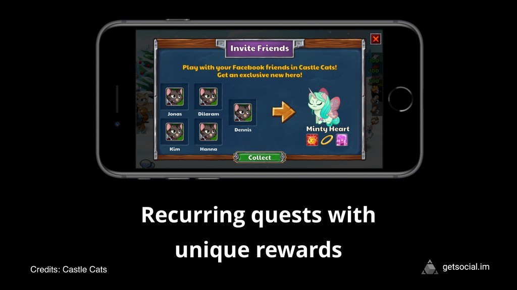 getsocial.im Recurring quests with unique rewar...