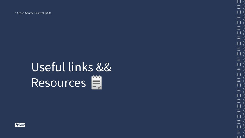 Useful links && Resources
