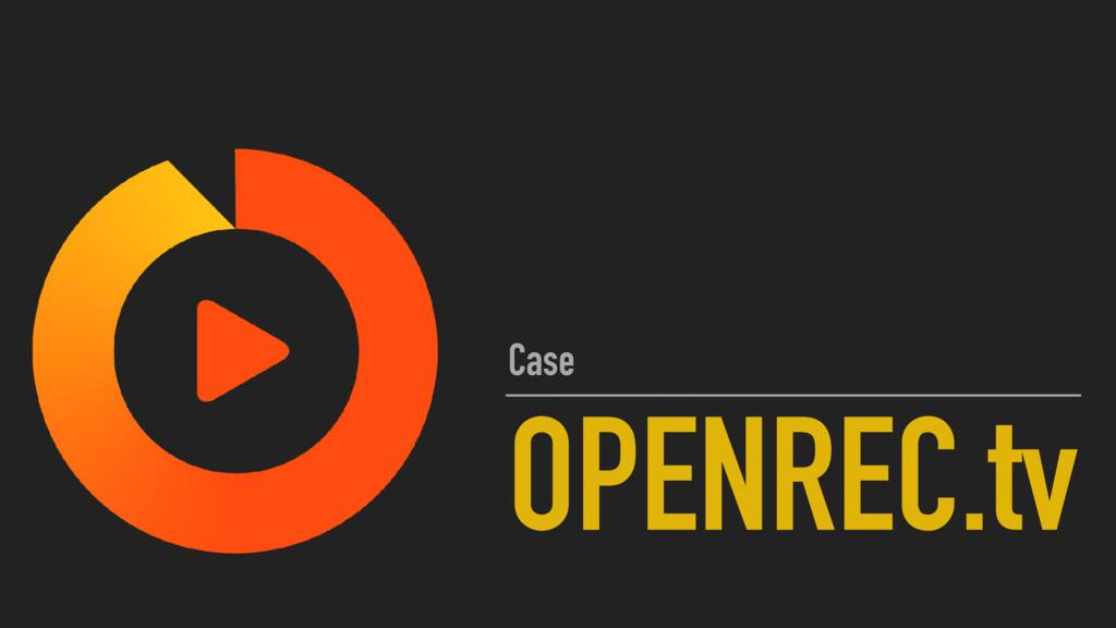 OPENREC.tv Case