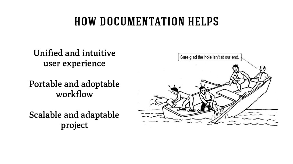 how documentation helps Unified and intuitive u...