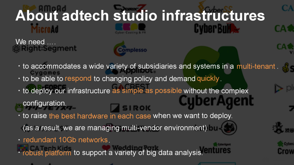 14 About adtech studio infrastructures We need ...