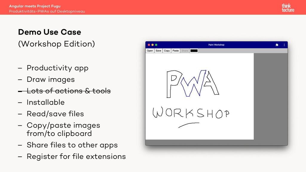 (Workshop Edition) – Productivity app – Draw im...