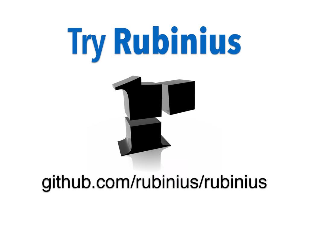 Try Rubinius github.com/rubinius/rubinius