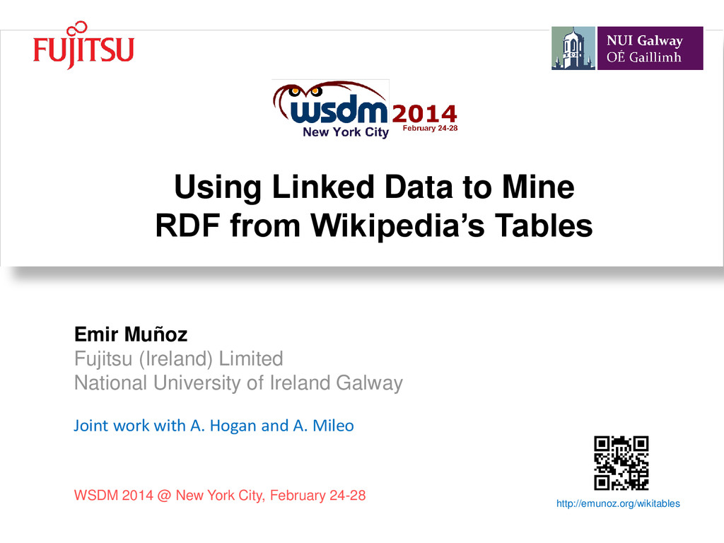 Using Linked Data to Mine RDF from Wikipedia's ...