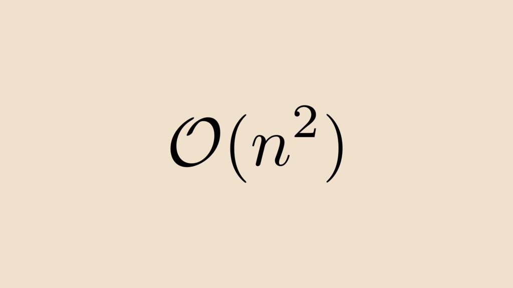 2) n O(