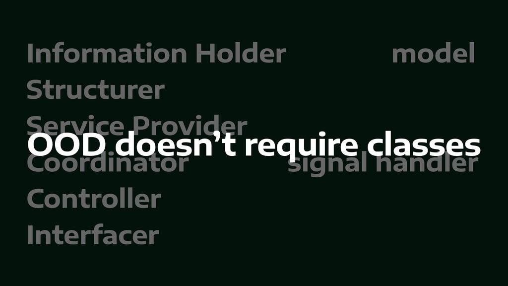 Information Holder model   Structurer   Service...