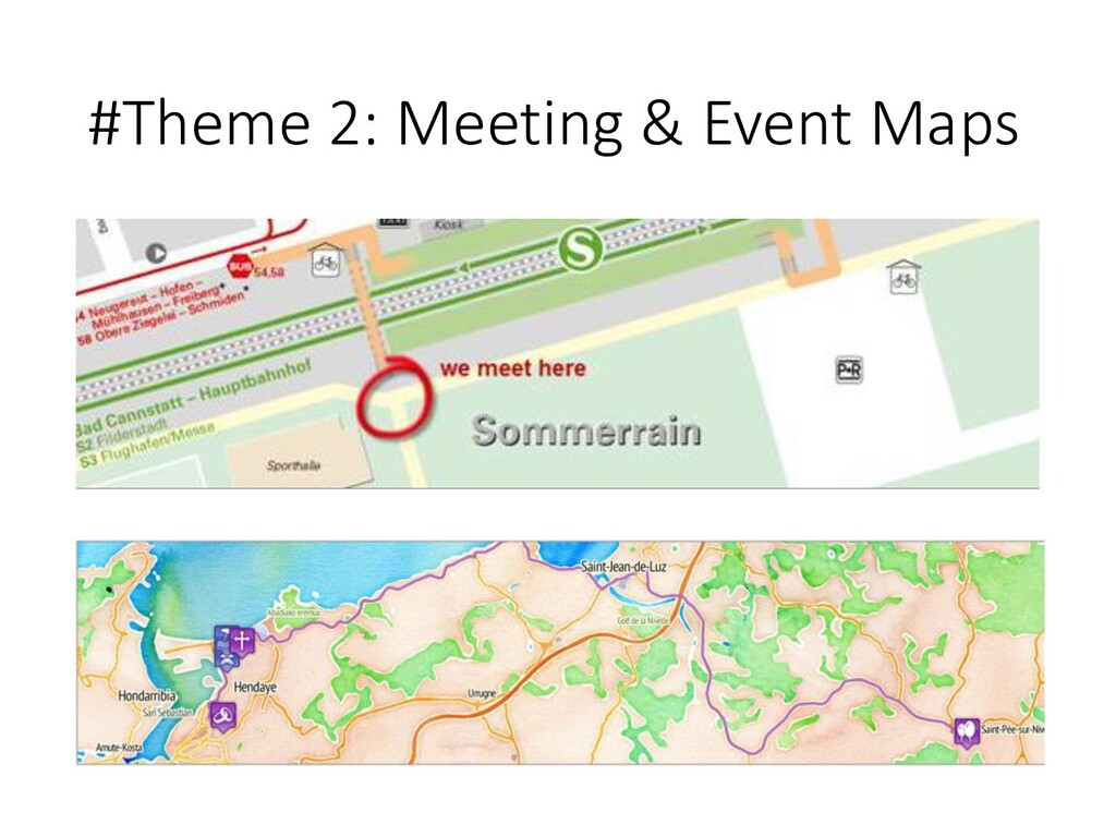#Theme 2: Meeting & Event Maps