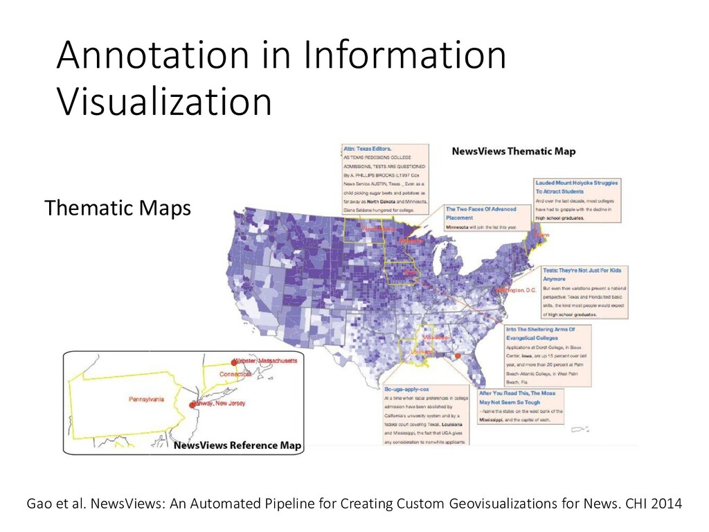 Annotation in Information Visualization Gao et ...